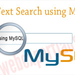 Full Text Search in MySQL